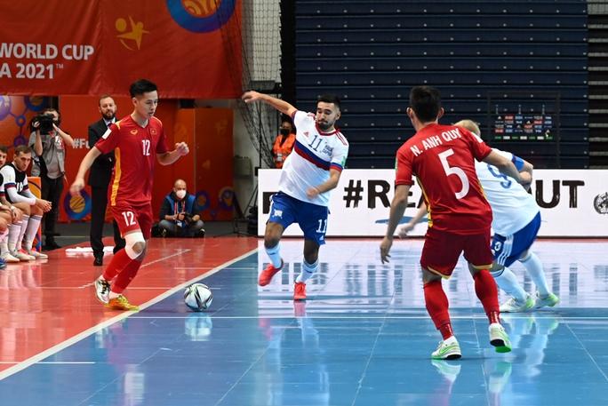 Việt Nam ngẩng cao đầu rời VCK FIFA Futsal World Cup 2021 - Ảnh 2.