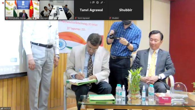 Ấn Độ hỗ trợ phát triển vắc-xin Nano Covax của Việt Nam - Ảnh 4.