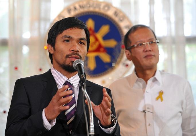 Võ sĩ huyền thoại Pacquiao giải nghệ, tuyên bố tranh cử Tổng thống - Ảnh 5.