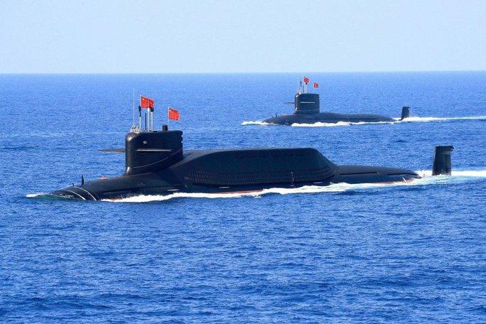 Mỹ không để Trung Quốc qua mặt về tàu ngầm - Ảnh 1.