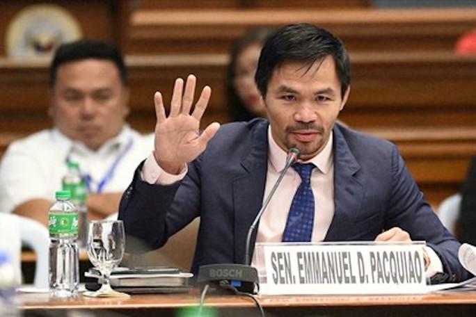 Võ sĩ huyền thoại Pacquiao giải nghệ, tuyên bố tranh cử Tổng thống - Ảnh 3.