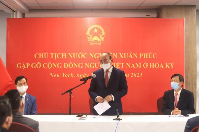 Chủ tịch nước: Quan hệ Việt - Mỹ ngày càng tốt đẹp, đó là quan hệ chiến lược, lâu dài - Ảnh 1.