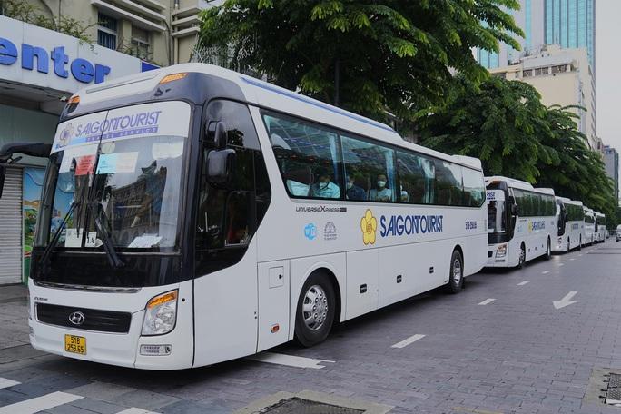 Saigontourist Group tiếp tục tiên phong tài trợ, tổ chức tour tri ân Cần Giờ, Củ Chi cho hàng ngàn y bác sĩ tuyến đầu chống dịch - Ảnh 1.