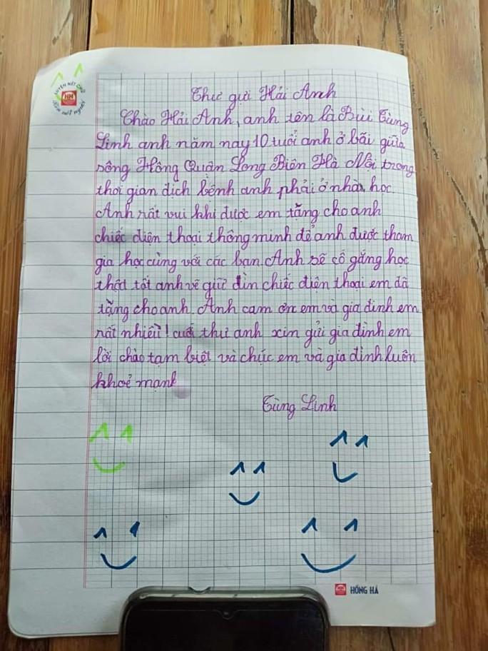 Câu chuyện xúc động của 2 học sinh chưa quen gửi tặng điện thoại cho nhau - Ảnh 3.