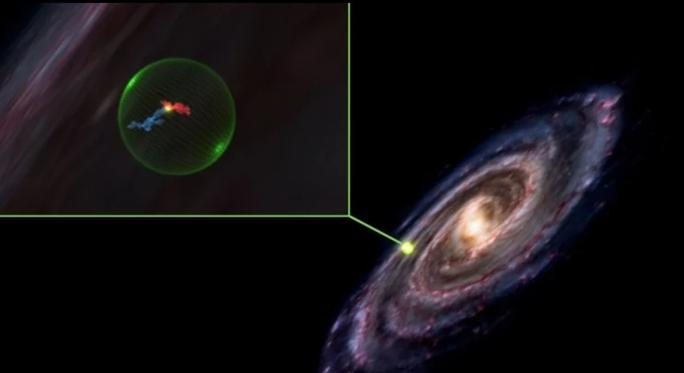 Thiên hà chứa Trái Đất bị thủng lỗ lớn - Ảnh 1.