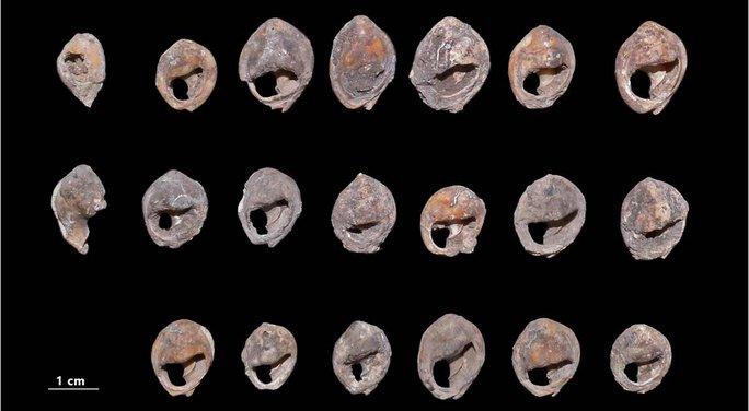 Choáng váng kho trang sức cổ xưa nhất thế giới: 150.000 tuổi - Ảnh 1.