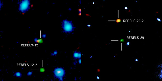 Ngoạn mục thiên hà vượt thời gian, hiện về từ quá khứ 13 tỉ năm trước - Ảnh 1.