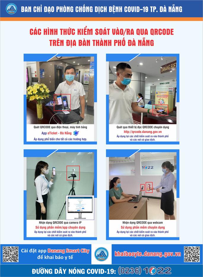 Đà Nẵng: Dùng QR Code tích hợp thông tin tiêm vắc-xin Covid-19 - Ảnh 2.