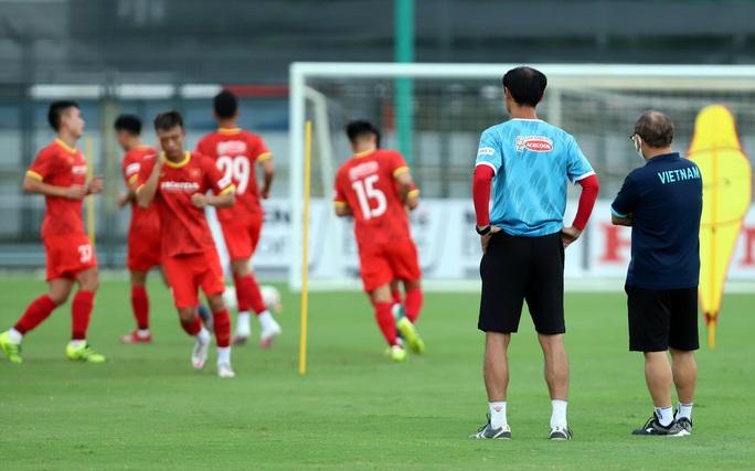 HLV Park Hang-seo thị sát các cầu thủ U22 Việt Nam trước ngày đi tập huấn tại UAE - Ảnh 3.