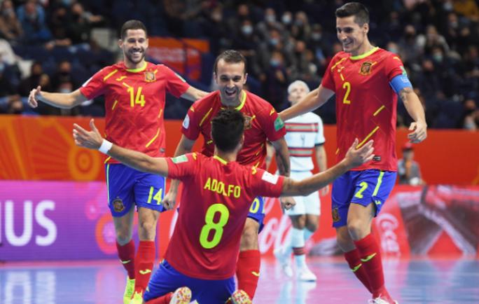 FIFA Futsal World Cup 2021: Tây Ban Nha thua đau, Kazakhstan làm nên lịch sử - Ảnh 5.