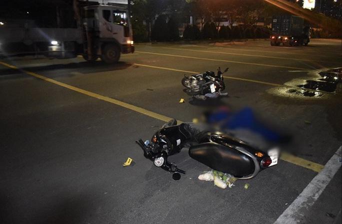 CSGT TP HCM khởi tố hình sự vụ tai nạn ở chân cầu Sài Gòn sau hơn 2 tháng - Ảnh 1.