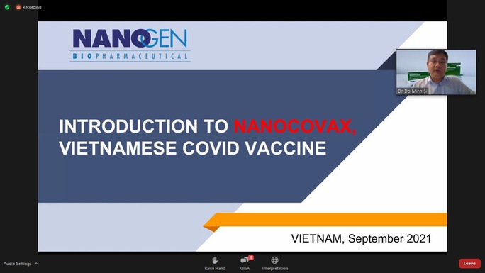 Báo cáo kết quả thử nghiệm lâm sàng vắc-xin Nano Covax với Tổ chức Y tế thế giới - Ảnh 1.
