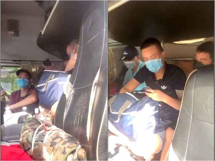 6 người trốn trong cabin xe đầu kéo để qua chốt rời vùng có dịch Covid-19 - Ảnh 1.