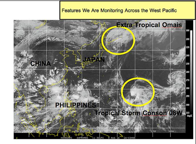 Bão Conson dự kiến băng qua Philippines vào biển Đông - Ảnh 1.