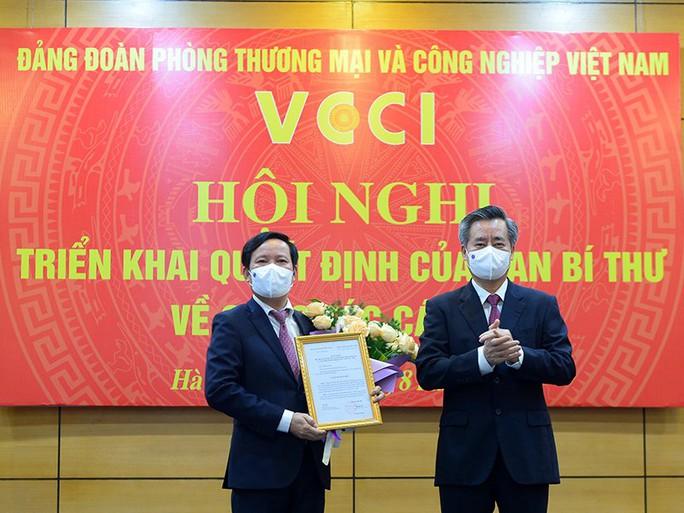 Ông Phạm Tấn Công làm Chủ tịch VCCI - Ảnh 1.
