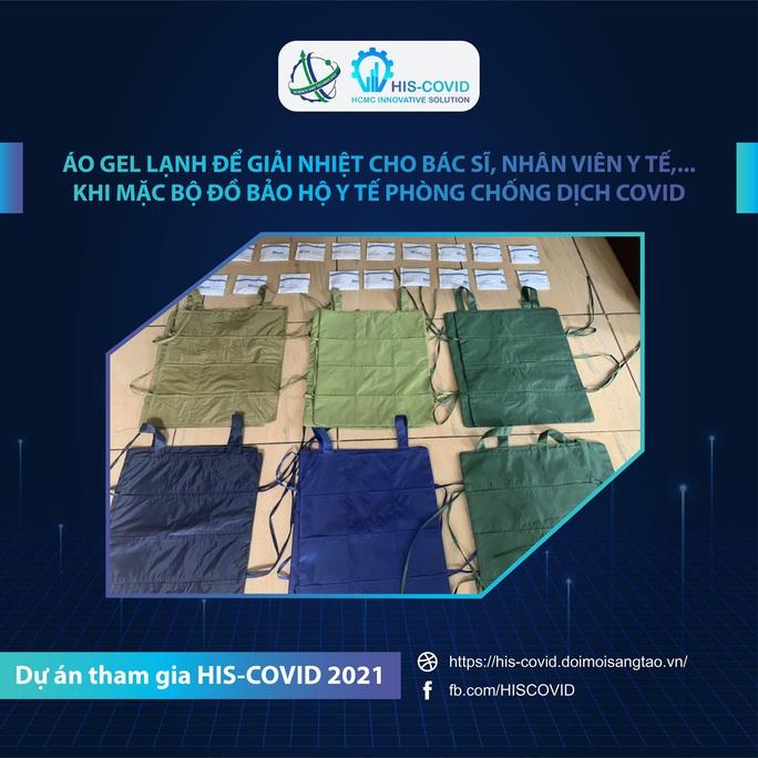 Chế tạo áo gel lạnh để giải nhiệt khi mặc đồ bảo hộ y tế - Ảnh 1.