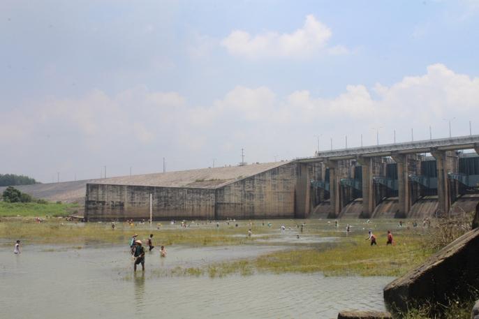 Đổ xô đi bắt cá ở hồ thủy điện Trị An - Ảnh 3.