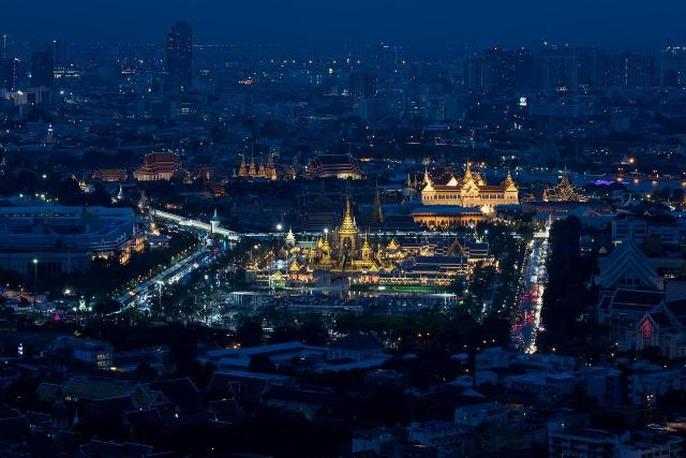 Thái Lan bắt đầu tang lễ Quốc vương Bhumibol Adulyadej - Ảnh 1.
