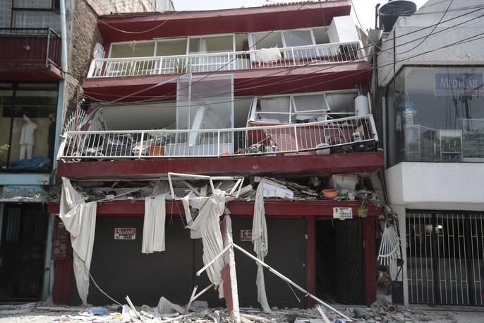 Động đất mạnh giáng xuống Mexico, hơn 210 người chết - Ảnh 9.