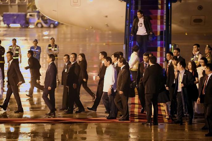 APEC 2017: Tổng thống Philippines đến Đà Nẵng - Ảnh 8.