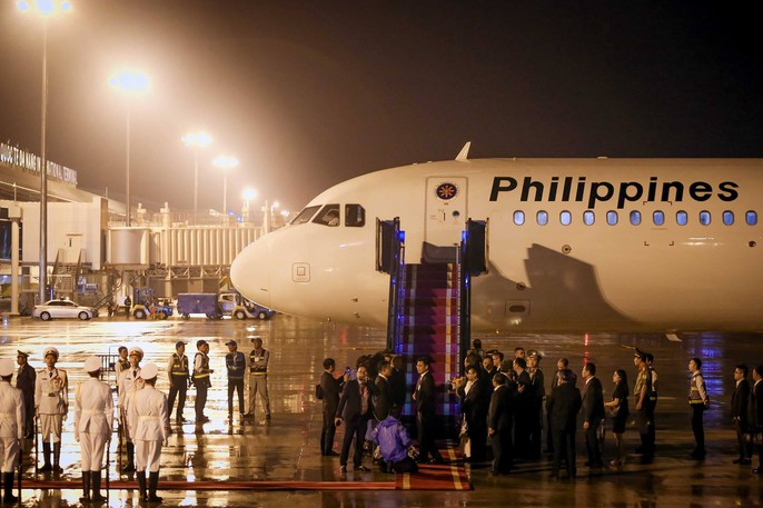 APEC 2017: Tổng thống Philippines đến Đà Nẵng - Ảnh 4.