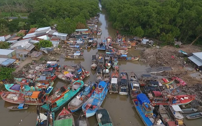 Miền Tây căng mình ứng phó với bão số 16 (Tembin) - Ảnh 4.