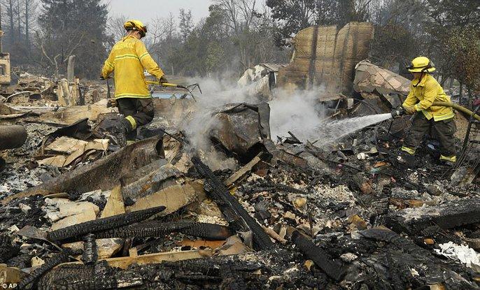 Cháy rừng ở California: Cứ như bị tấn công hạt nhân - Ảnh 10.