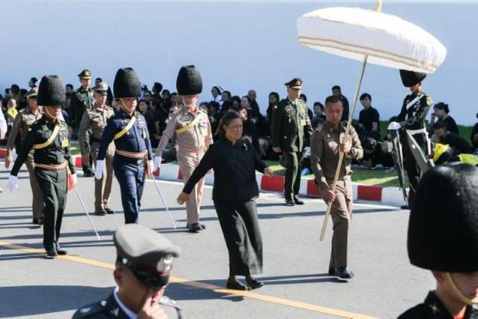 Thái Lan bắt đầu tang lễ Quốc vương Bhumibol Adulyadej - Ảnh 5.