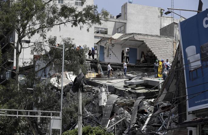 Động đất mạnh giáng xuống Mexico, hơn 210 người chết - Ảnh 4.