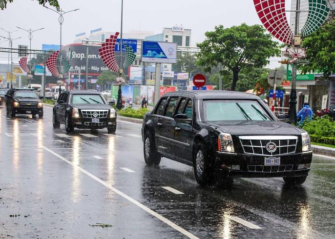APEC 2017: Người dân Đà Nẵng đội mưa xem quái thú - Ảnh 4.