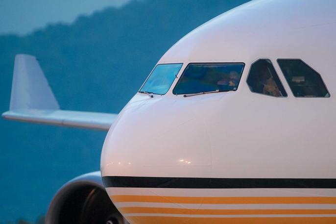 Vua Brunei tự lái chuyên cơ tới Đà Nẵng - Ảnh 2.