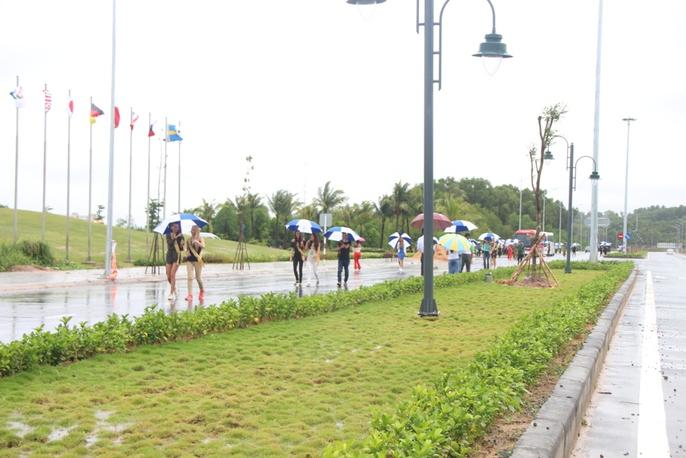 Hoa hậu Hòa bình Thế giới tham gia trồng cây ở Phú Quốc - Ảnh 2.