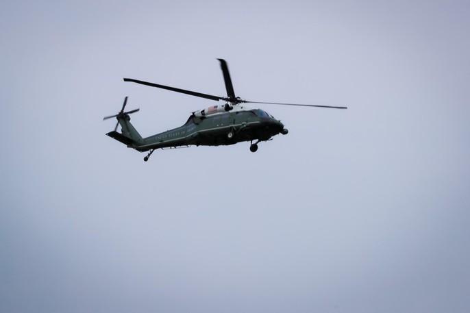 APEC 2017: Marine One bay thử, không quân Hàn Quốc xuất hiện - Ảnh 6.