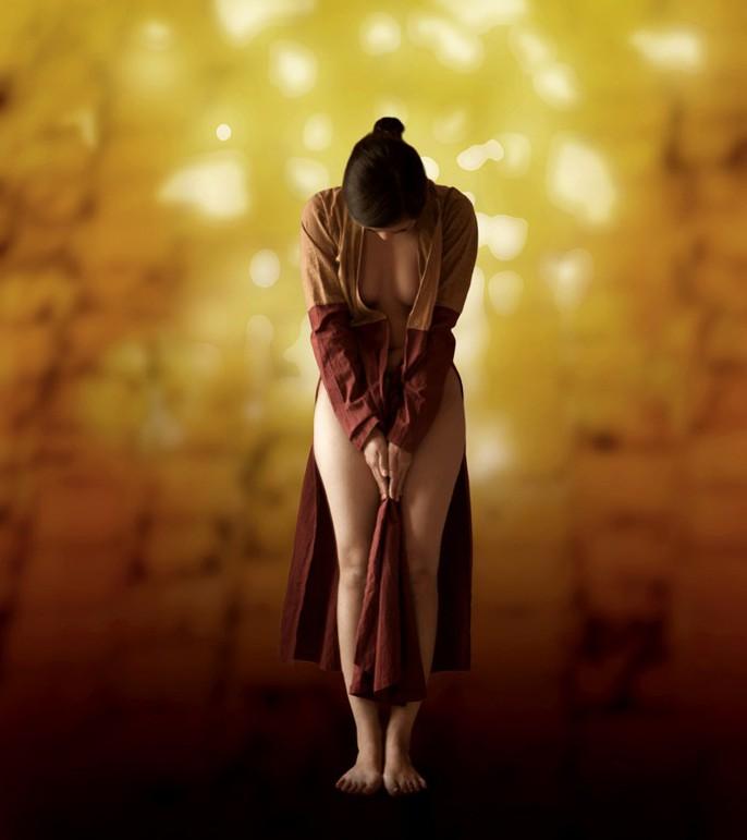 Ngắm ảnh lưng trần áo yếm của Dzũng Art - Ảnh 11.
