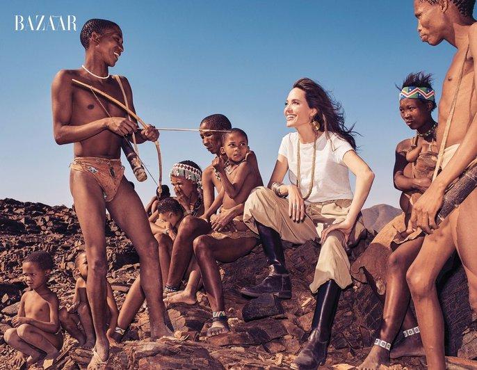 Angelina Jolie đẹp cùng báo đốm - Ảnh 6.