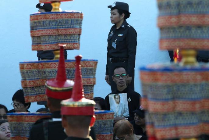 Thái Lan bắt đầu tang lễ Quốc vương Bhumibol Adulyadej - Ảnh 8.