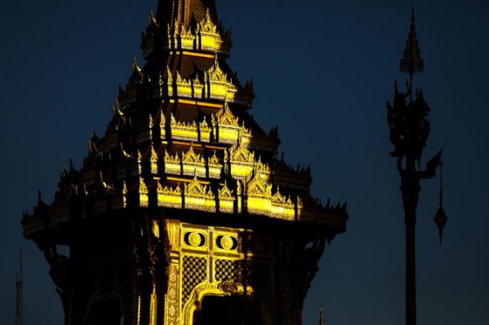 Thái Lan bắt đầu tang lễ Quốc vương Bhumibol Adulyadej - Ảnh 2.