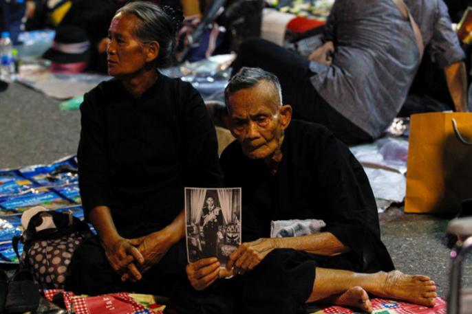 Thái Lan bắt đầu tang lễ Quốc vương Bhumibol Adulyadej - Ảnh 9.