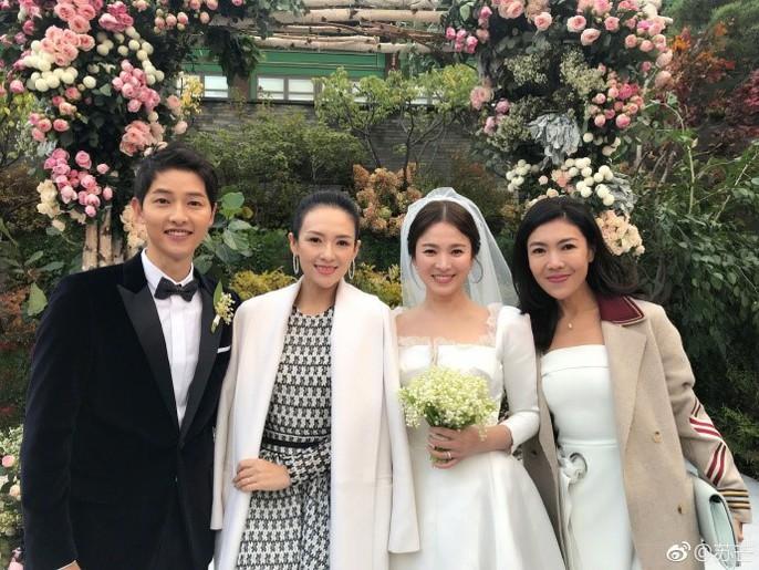 Song Hye Kyo và Song Joong Ki khoe ảnh cưới - Ảnh 7.