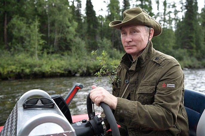 Tổng thống Putin cởi trần nghỉ mát tại Siberia - Ảnh 9.