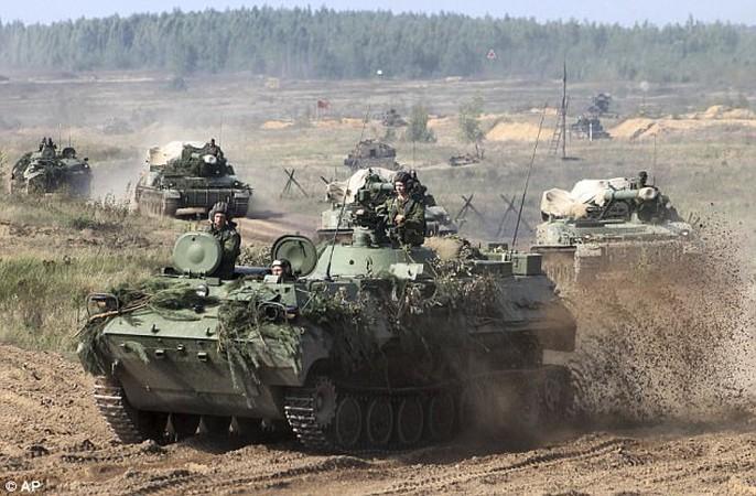 Cận cảnh cuộc tập trận khủng của Nga - Belarus - Ảnh 12.