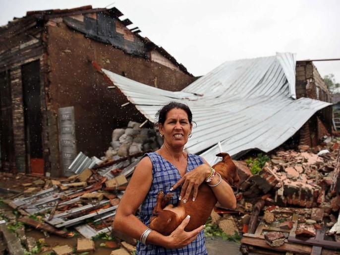 Bão Irma đã đến Mỹ, sóng cao 6 m vẫn ập vào Cuba - Ảnh 5.