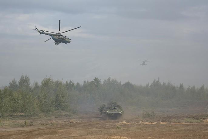 Cận cảnh cuộc tập trận khủng của Nga - Belarus - Ảnh 6.