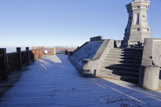 Đốn tim vẻ đẹp lung linh của băng giá trên đỉnh Fansipan - Ảnh 13.