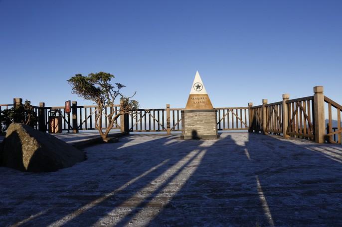 Đốn tim vẻ đẹp lung linh của băng giá trên đỉnh Fansipan - Ảnh 24.