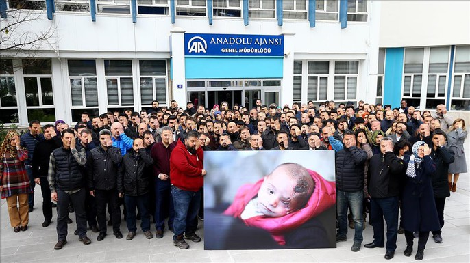 Syria: Xót thương bé 3 tháng tuổi chỉ còn một mắt - Ảnh 11.