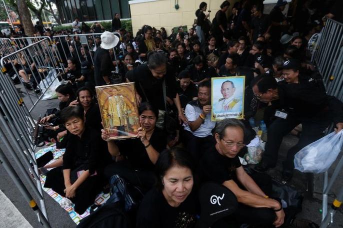 Thái Lan bắt đầu tang lễ Quốc vương Bhumibol Adulyadej - Ảnh 13.