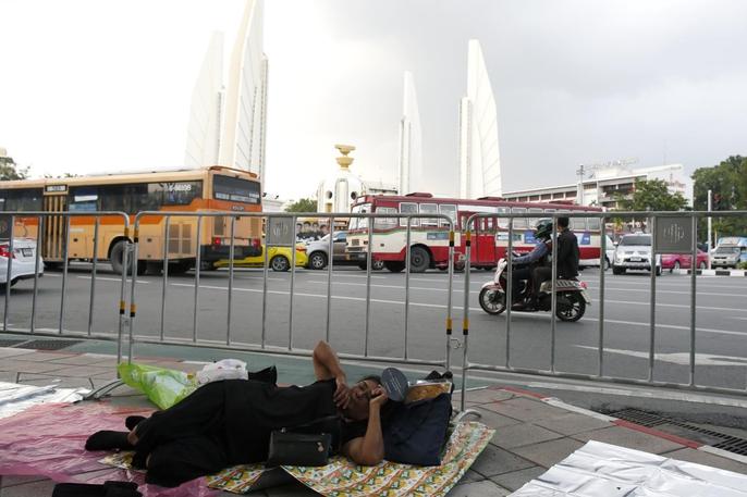Thái Lan bắt đầu tang lễ Quốc vương Bhumibol Adulyadej - Ảnh 12.