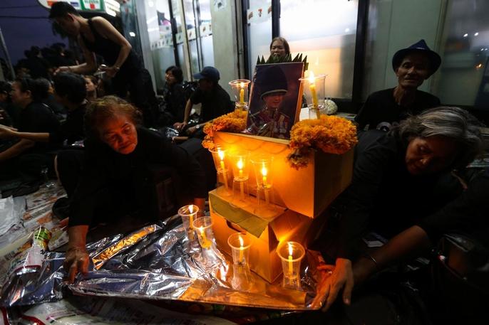 Thái Lan bắt đầu tang lễ Quốc vương Bhumibol Adulyadej - Ảnh 10.