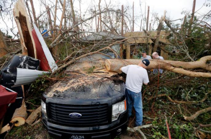 Mỹ: Bão Michael trút thiệt hại không thể tưởng tượng xuống Florida - Ảnh 6.